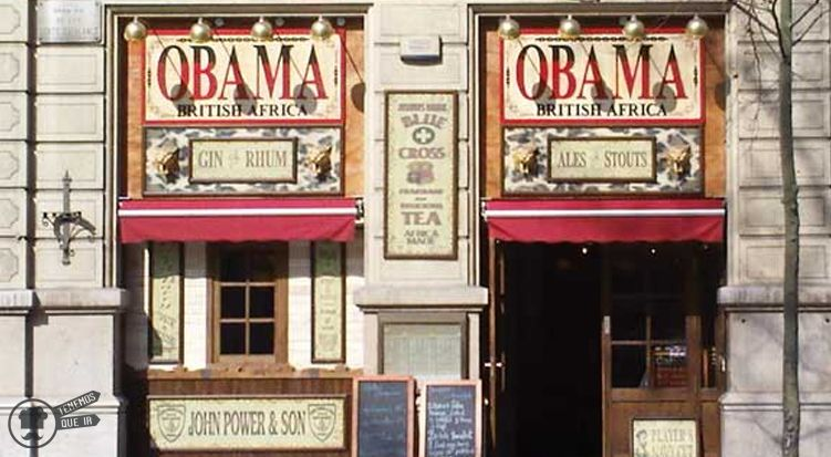 A Bar Obama Barcelona Tenemosqueir