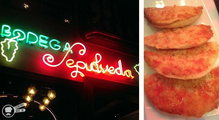 A Restaurante Bodega Sepulveda Barcelona Tenemosqueir