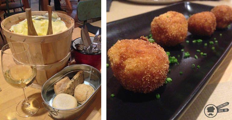 A Restaurante Le Coco Madrid Tenemosqueir mantequilla y croquetas
