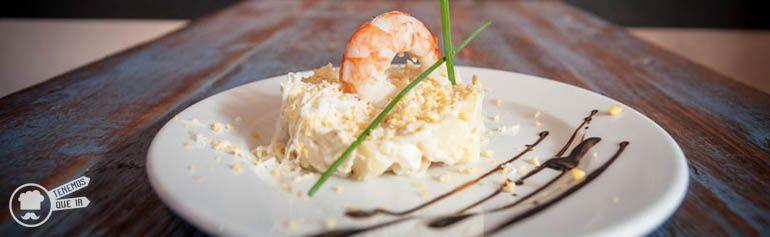 A El Mandil Restaurante Madrid Tenemosqueir Ensaladilla Rusa