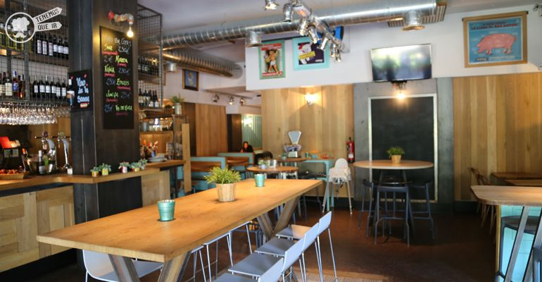 A La Imperial de Raimundo Tenemosqueir Restaurante Madrid Decoracion