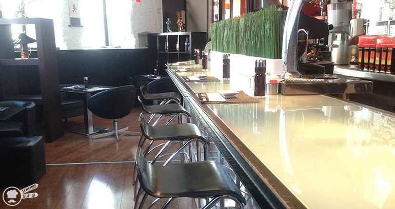 Barra A Sushiole Restaurante Japones Madrid Tenemosqueir