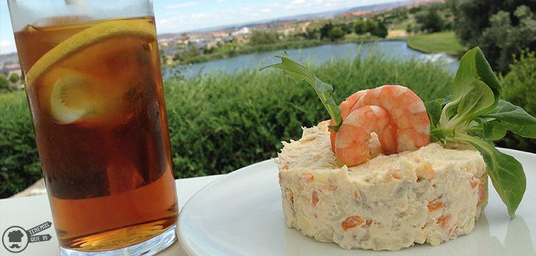 Cafeterias Campos de Golf Madrid El Olivar de la Hinojosa Ensaladilla