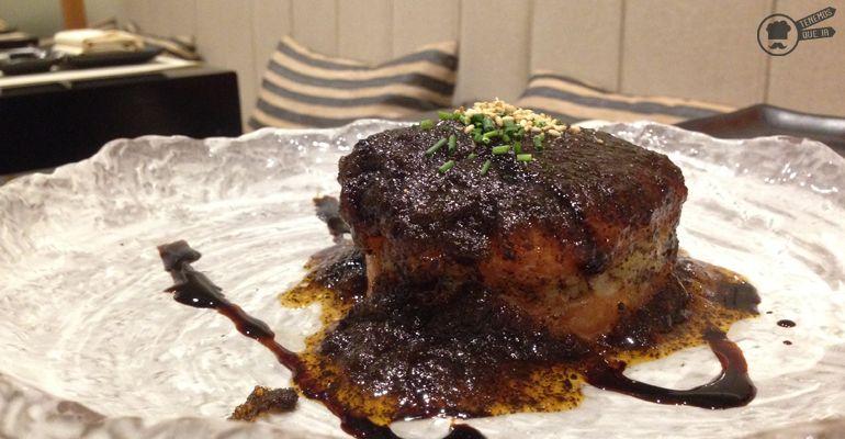 Tartar de Trufa A Nipon Taro Tenemosqueir Restaurante Japones Madrid