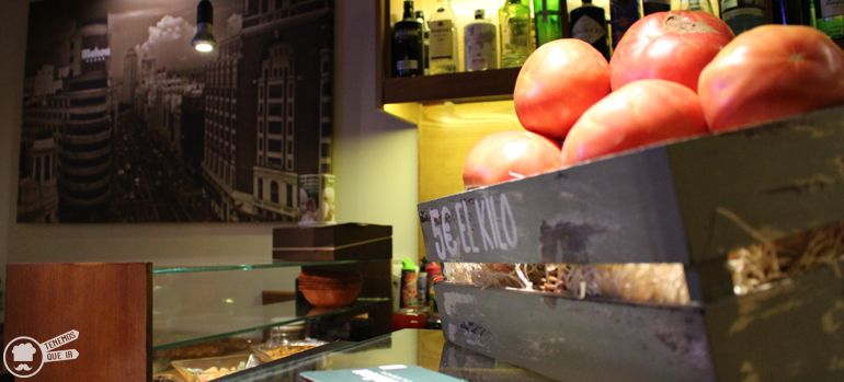 A Pinchos El Cano Tenemosqueir Madrid Fuencarral Tomates de la Huerta