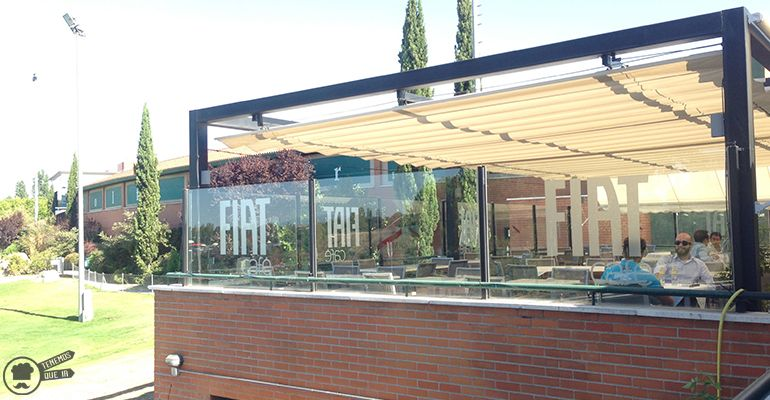 Cafeterias Campos de Golf Madrid Fiat Cafe Golf Park