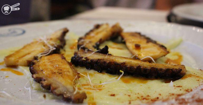 A Arroceria Restaurante El Garbi Madrid Tenemosqueir Pulpo a la Brasa