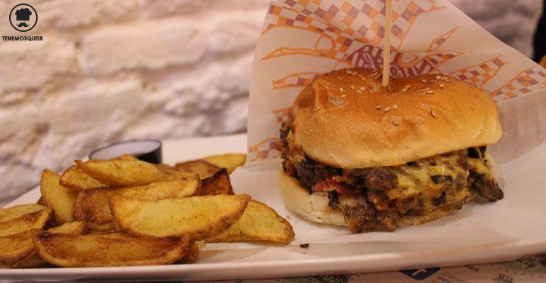 A Goiko Grill Hamburguesas Madrid Tenemosqueir Kevin Bacon Hamburguesa