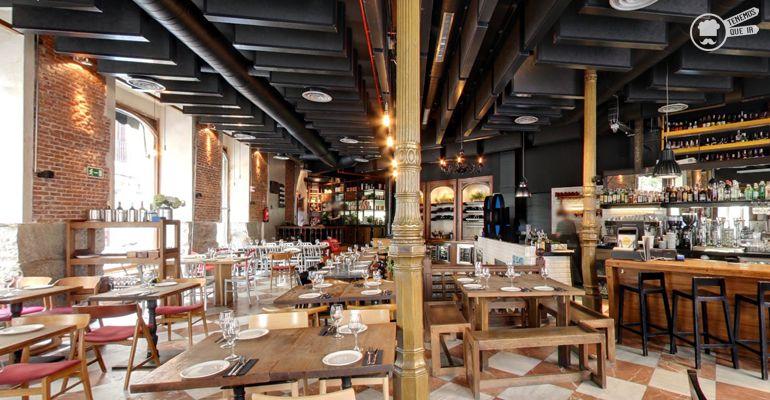 A Restaurante Lamucca Tenemosqueir Madrid Decoracion Local