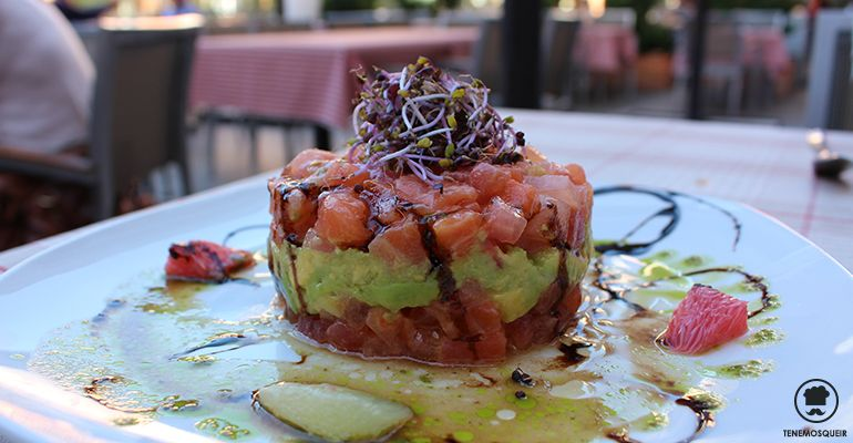 A Restaurante 650 La Moraleja Tenemosqueir Tartar de Salmon
