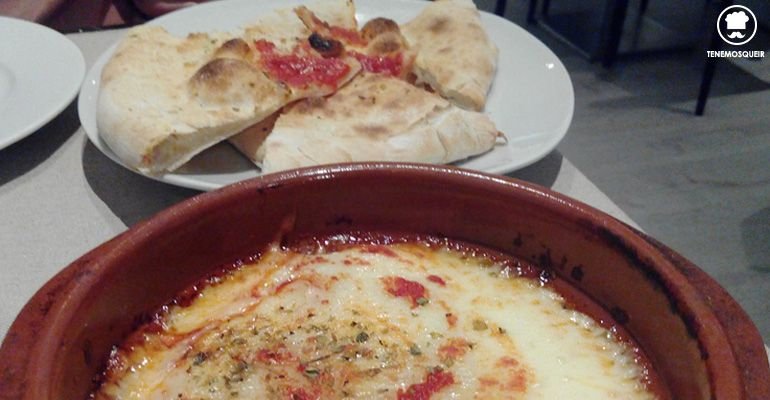 A Restaurante Il Tocco Giusto Tenemosqueir Madrid Provolone