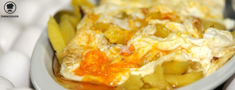 Los 10 Platos Tipicos Madrid Huevos Rotos Casa Lucio