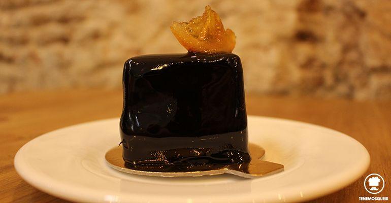 A Fonty Restaurante Cafeteria Pasteleria Madrid Tenemosqueir Chocolate y Naranja