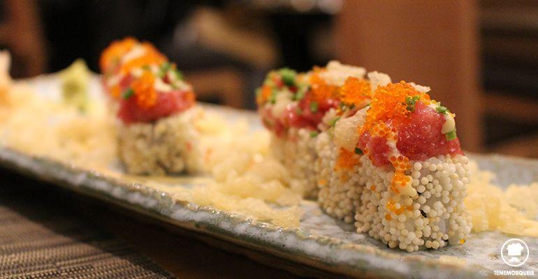 A Miyama Restaurante Japones Sushi Tenemosqueir Madrid MAki California Atun Picante