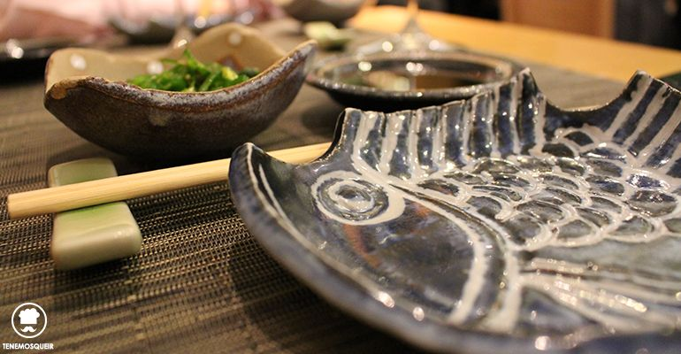 A Miyama Restaurante Japones Sushi Tenemosqueir Madrid Mesa Vajilla