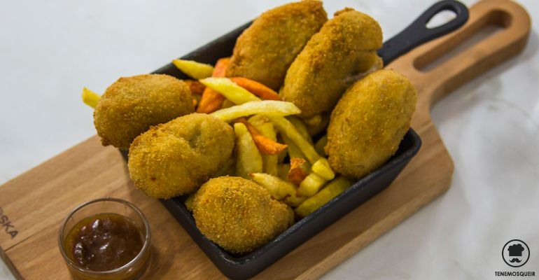 A Restaurante Lady Madonna Madrid Tenemos que ir Croquetas de Carrilera y Su Jugo