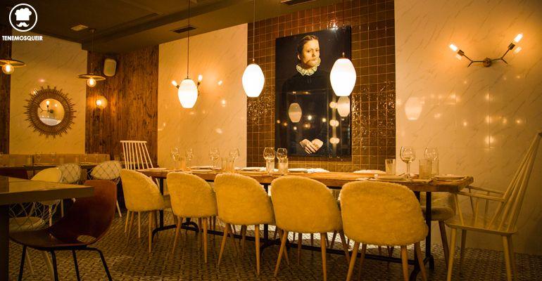 A Restaurante Lady Madonna Madrid Tenemos que ir Interior