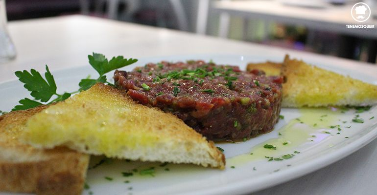 A Casa Julian Carnes a la Brasa Restaurante Madrid Tenemosqueir Steak Tartar
