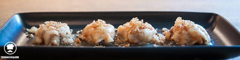 A El Columpio Restaurante Madrid Tenemosqueir Ravioli de Gamba Fresca con Crema de Marisco