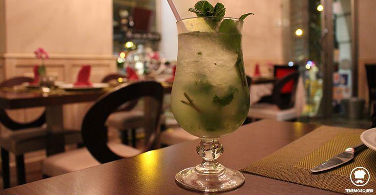 A Gasset Habana Restaurante Cubano Madrid Tenemosqueir Mojito preparado