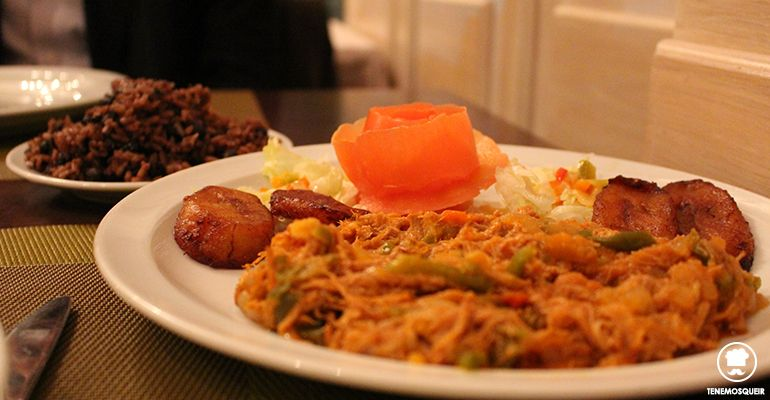 A Gasset Habana Restaurante Cubano Madrid Tenemosqueir Ropa Vieja y Arroz Moros y Cristianos