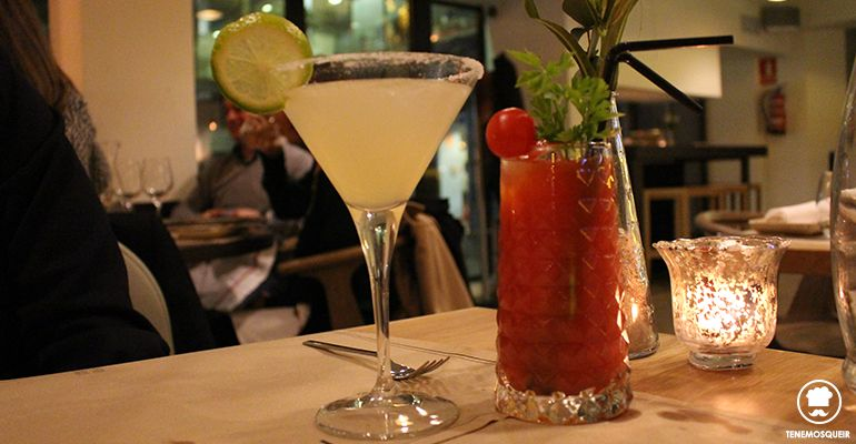 A Midtown Restaurante Madrid Tenemosqueir Coctails