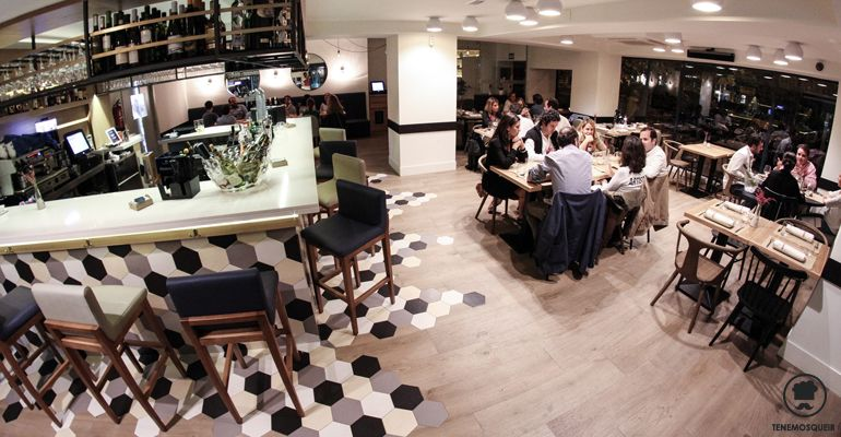 A Midtown Restaurante Madrid Tenemosqueir Interior