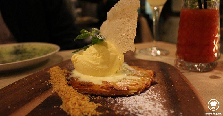 A Midtown Restaurante Madrid Tenemosqueir Tarta de Manzana