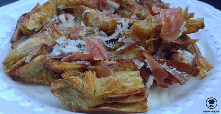 Alcachofas Fritas Restaurante La Gabinoteca Madrid Tenemosqueir