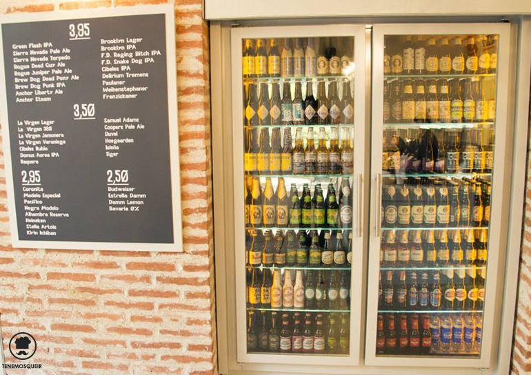 Cervezas Sagasta Tierra Burrito Bar Restaurante TexMex Madrid Tenemosqueir Sagasta