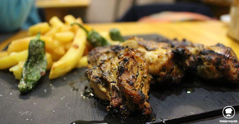 Pollo de Corral a la Brasa A la Parrilla de Elcano Restaurante Carne Madrid Tenemosqueir