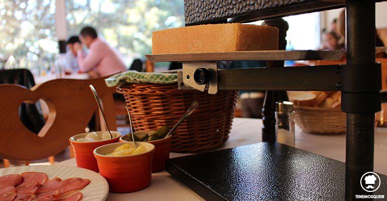 Restaurante Chalet Suizo del Colegio Suizo Madrid Tenemosqueir Queso Suizo Raclet