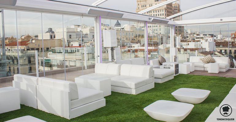 Terraza-Room-Mate-Oscar-Climatizada Restaurantes Madrid Terrazas Tenemosqueir