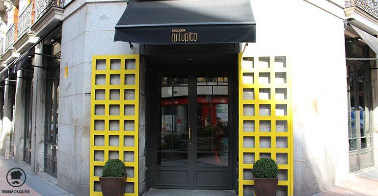 A Restaurante Mexicano Taqueria La Lupita Madrid Tenemosqueir Entrada