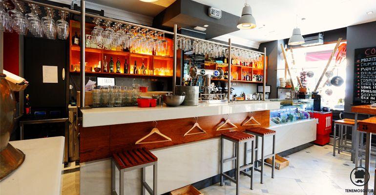 A Restaurante Taste Gallery Madrid Tenemos que ir Barra