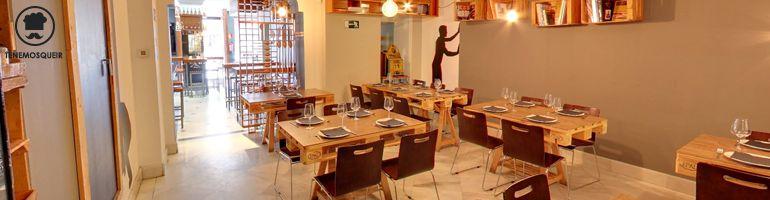 A Restaurante Taste Gallery Madrid Tenemos que ir Cabecera