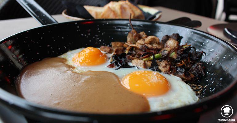 Huevos con Setas A Comala Restaurante Fusion Madrid Tenemosqueir