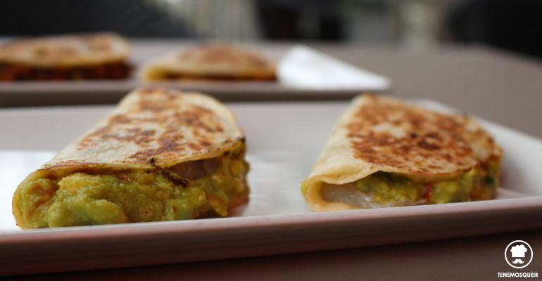 Tacos Arenques y Mango A Comala Restaurante Fusion Madrid Tenemosqueir