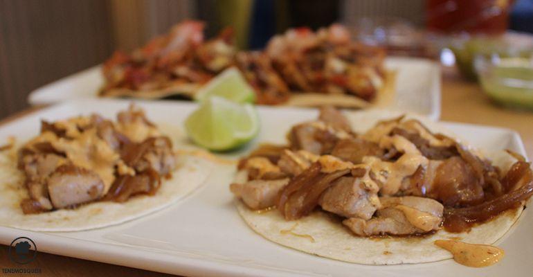 Tacos de Atun a la Planca A Restaurante Mexicano Taqueria La Lupita Madrid Tenemosqueir