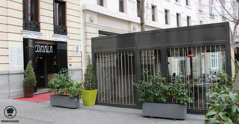 Terraza A Comala Restaurante Fusion Madrid Tenemosqueir