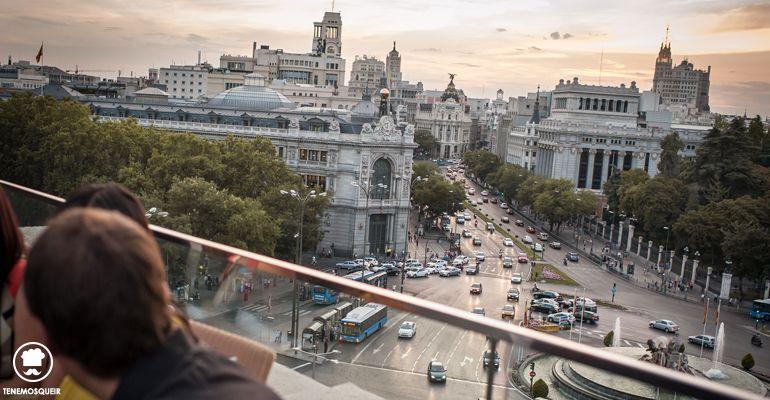Terraza Cibeles Madrid Edificio de Correos