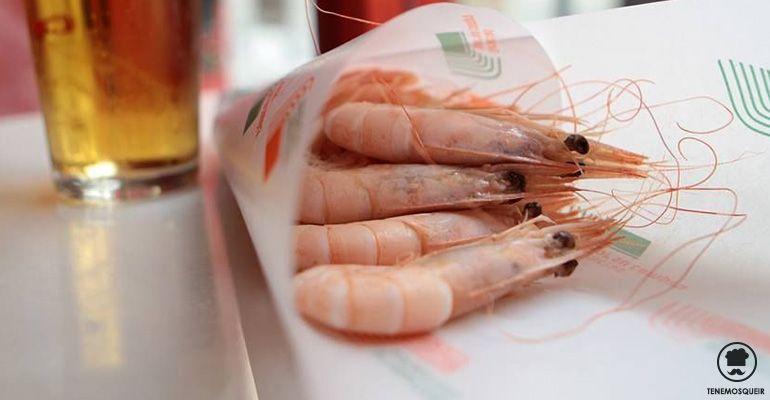 A Restaurante Taberna Casa Curro Tenemos que ir Madrid Gambas de Huelva