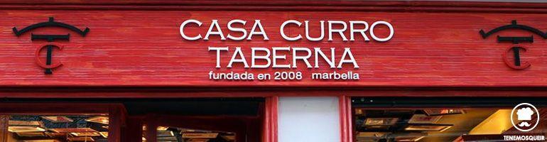 A Restaurante Taberna Casa Curro Tenemos que ir Madrid