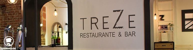 Barra Restaurante TreZe Tenemosqueir Madrid