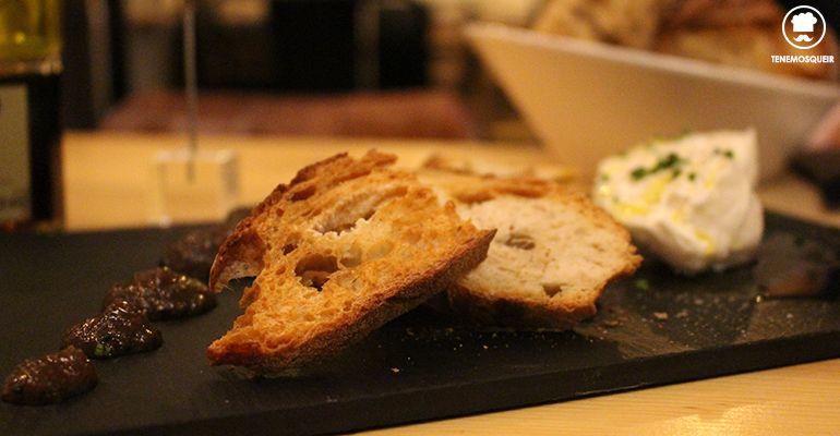 Burrata con Confitura de Hongos Top10 Restaurante Madrid Tenemosqueir