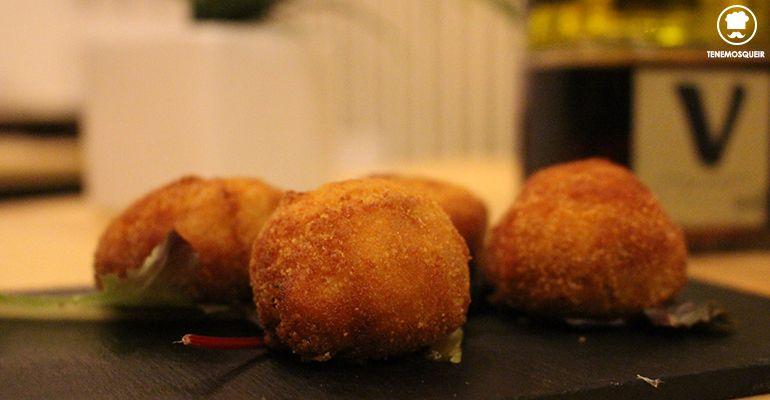 Croquetas de Jamon Top10 Restaurante Madrid Tenemosqueir