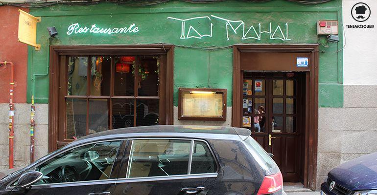 Local Taj Mahal Restaurante Indio Madrid