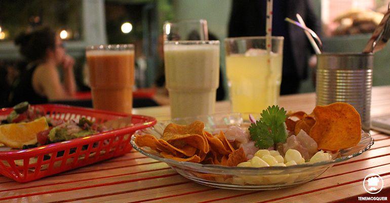 Comida Ojala Restaurante con Arena de Playa en Madrid