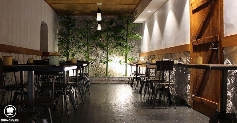Decoracion Ninja Ramen Restaurante Japones Madrid Tribunal Tenemosqueir