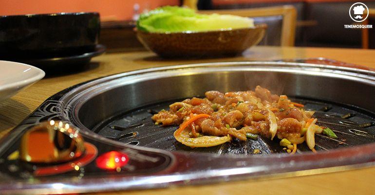 Barbacoa Coreana Restaurante Coreano Madrid Maru Tenemosqueir